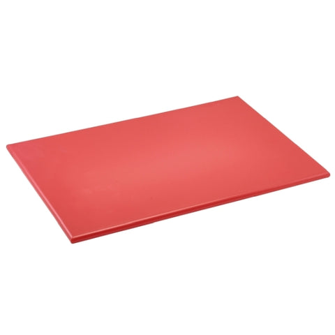 "High Density Cutting Board 18 x 12 x 0.5"" Red"
