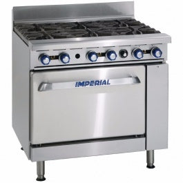 IMPERIAL COMMERCIAL COOKER IR6 BURNER