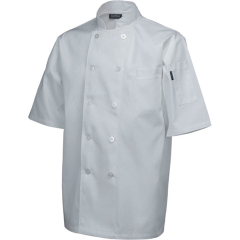 Standard Jacket (Short Sleeve) White M Size