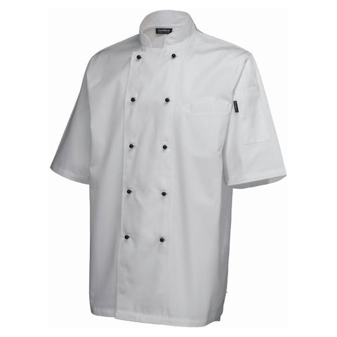 Superior Jacket (Short Sleeve) White M Size