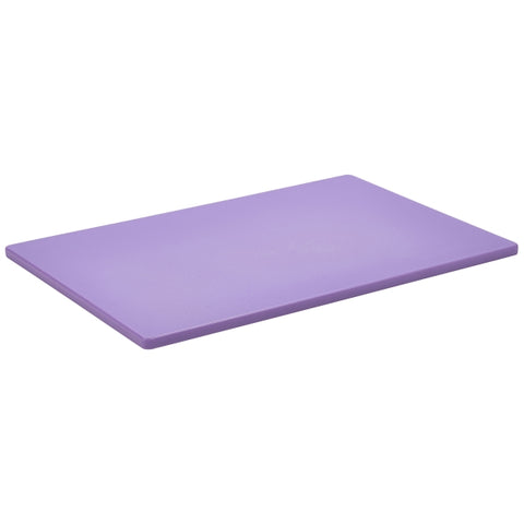 Purple Poly Cutting Board 18 x 12 x 0.5""