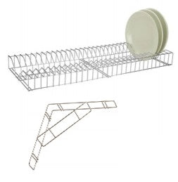 PLATE RACK - S/S WIRE RACK.