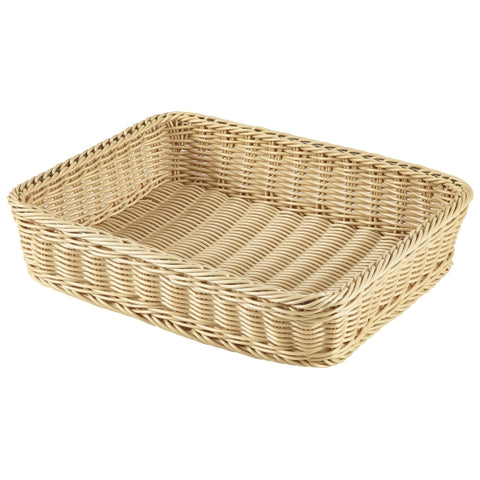 Polywicker Display Basket GN 1/2