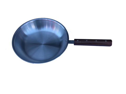 Frypan Aluminium Wooden Handle