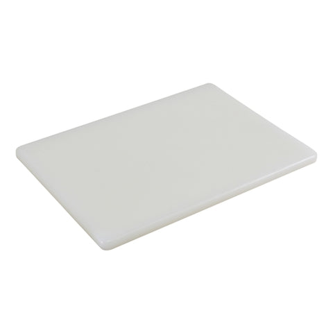 White Poly Cutting Board 18 x 12 x 0.5""