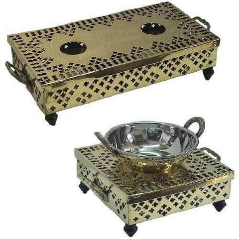 CANDLE WARMERS - TRADITIONAL BRASS