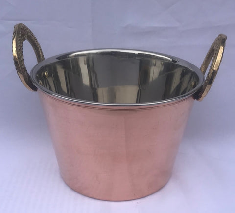 COPPER BALTI DISH