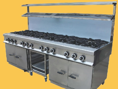 GAS COOKER 12 BURNER NEW CHESTER COOKER