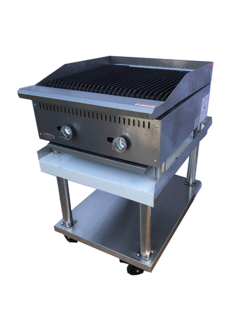 FREITCO COMMERCIAL GAS GRILL TABLE TOP 600mm - Euro Catering UK Ltd