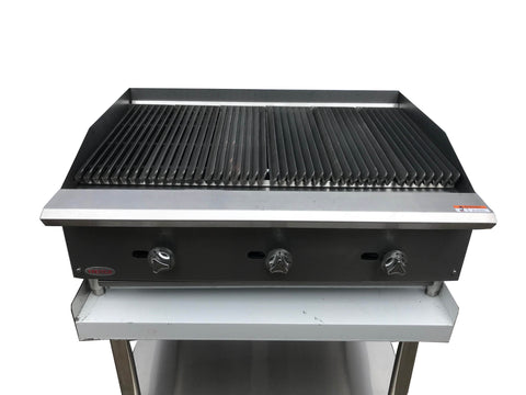 FREITCO COMMERCIAL GAS GRILL TABLE TOP 1200mm - Euro Catering UK Ltd