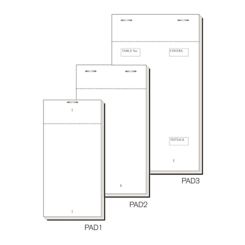 Order Pad 100 Sheet Single 127X63mm Box 50