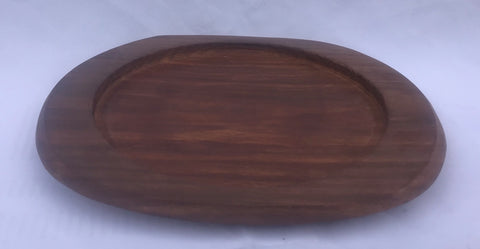"WOODEN BASE ONLY 9"" FOR RECTANGLER SIZZLER"