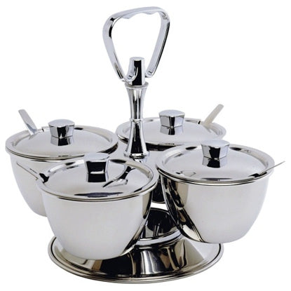 STAINLESS STEEL CHUTNEY RELISH SET