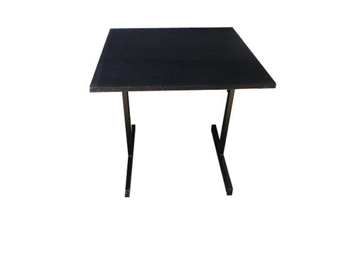 RESTAURANT TABLE WITH FELT TOP