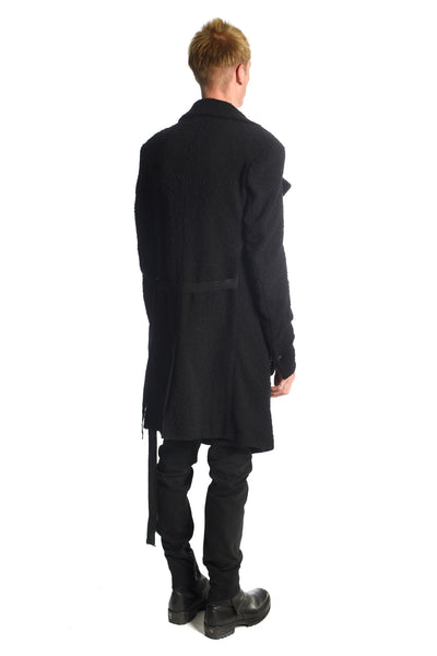 Signature Piled Wool Coat