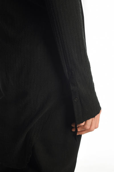 Henley  - Black Silk