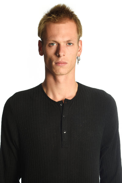 Henley Sweater - Silk