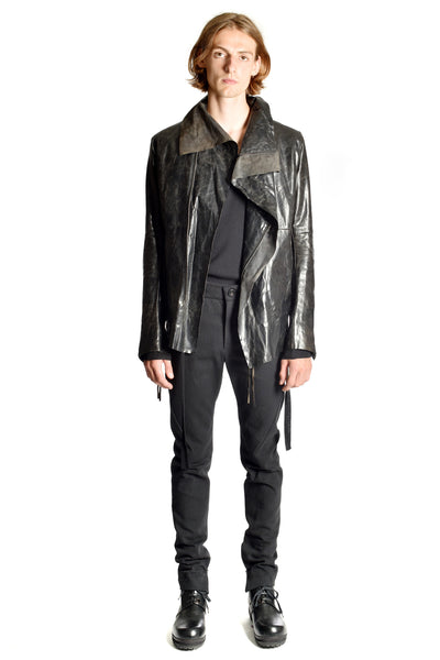 Signature High Collar Biker