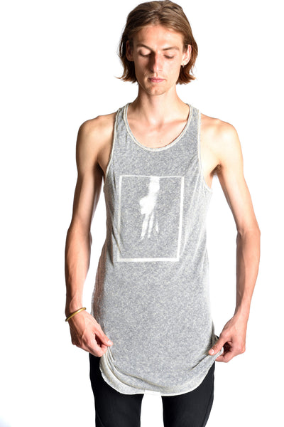 Printed Doubled Tanktop