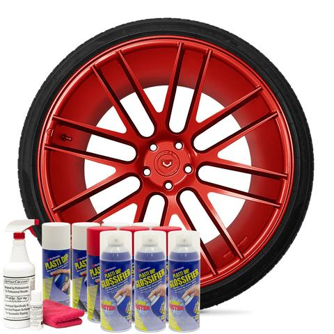 Plasti Dip - Red Gloss Kit