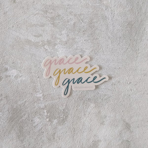 Grace Sticker