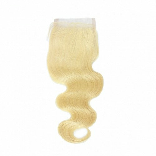 European Blonde 4x4 Lace Closure