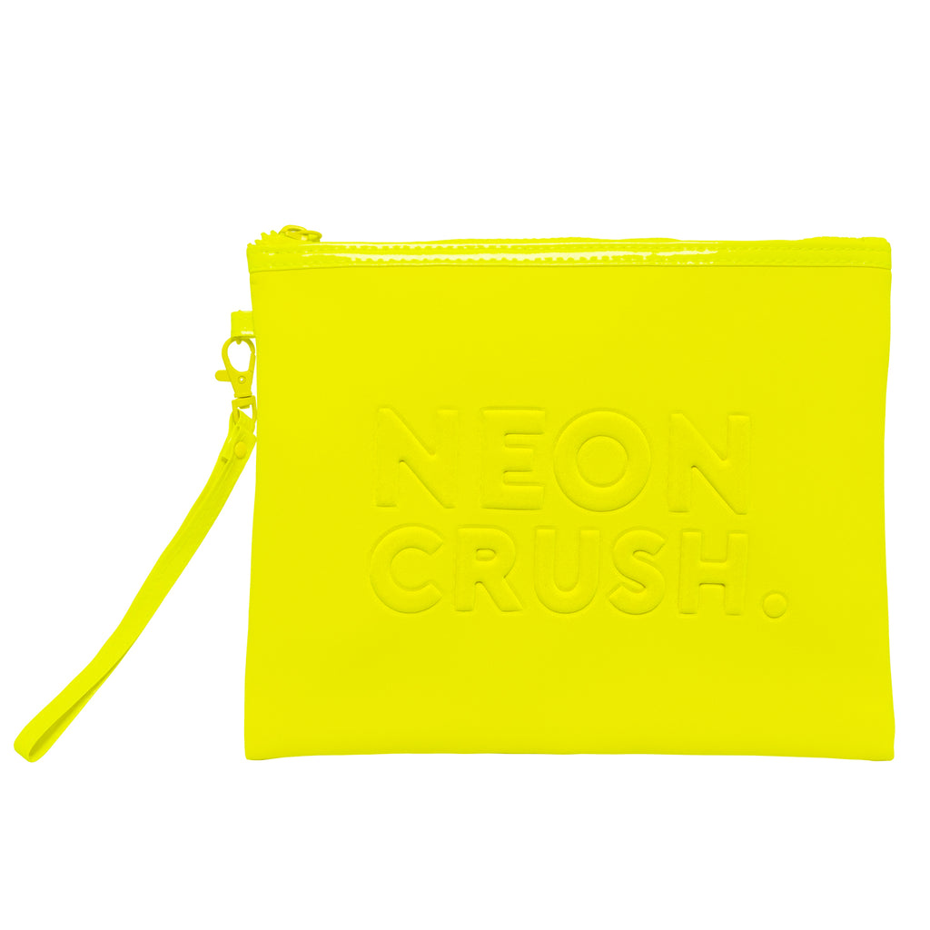 Neceser Neon Crush Yellow - You Are The Princess x Krash Kosmetics (4800074088557)