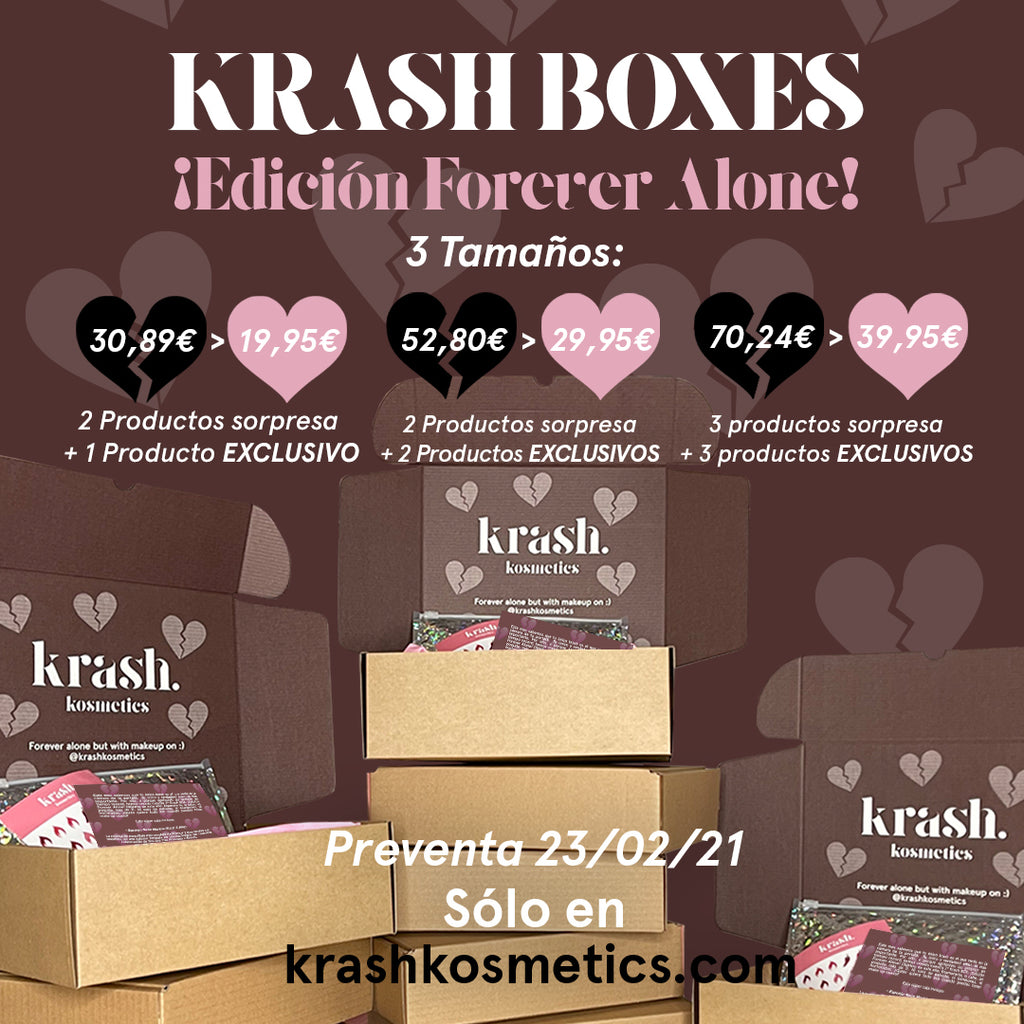 Krash Box 'Forever Alone Edition' Pequeña -