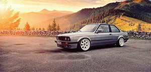 BMW E30 325 i coupe type M3 look motorsport