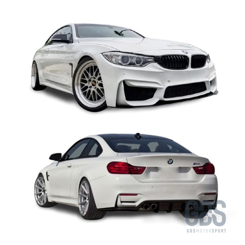 Kit complet Look M4 F82 pour Bmw F32 Coupe / F33 Cabriolet - Pare Choc Kit Carrosserie