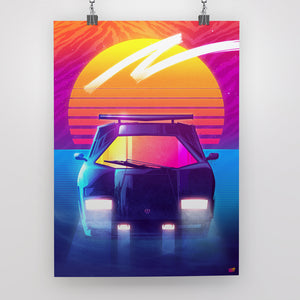 Countach Poster