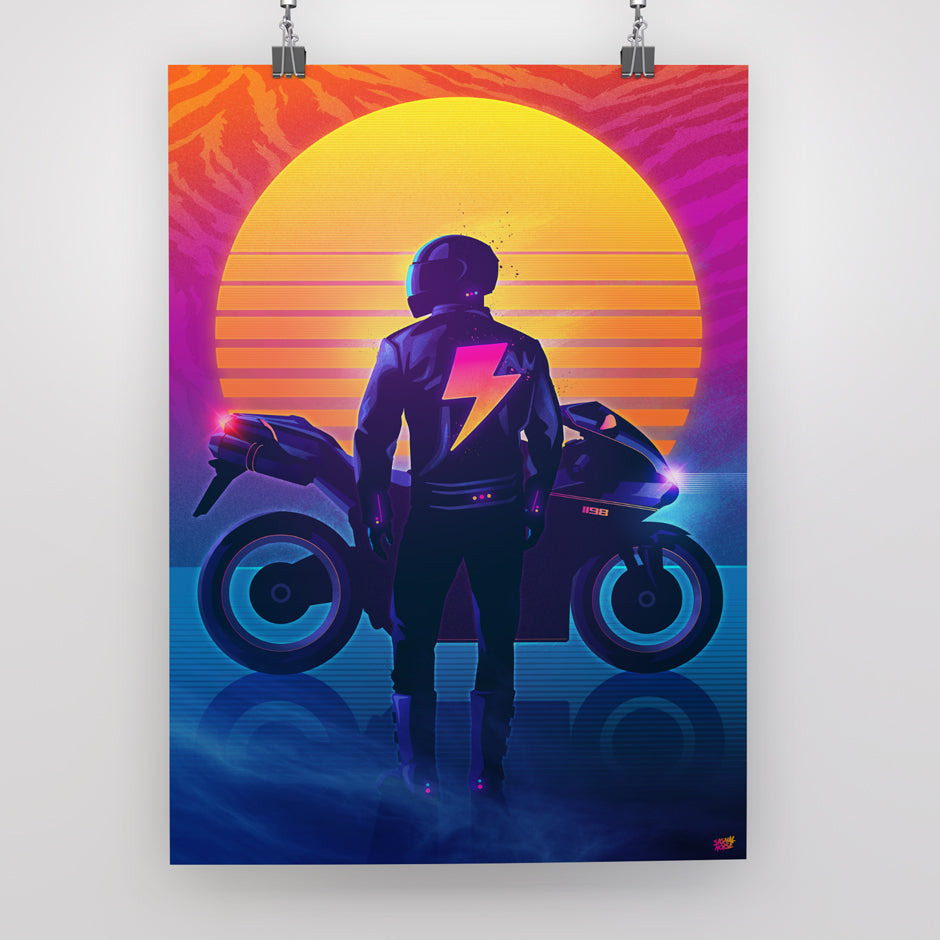 Rider Poster