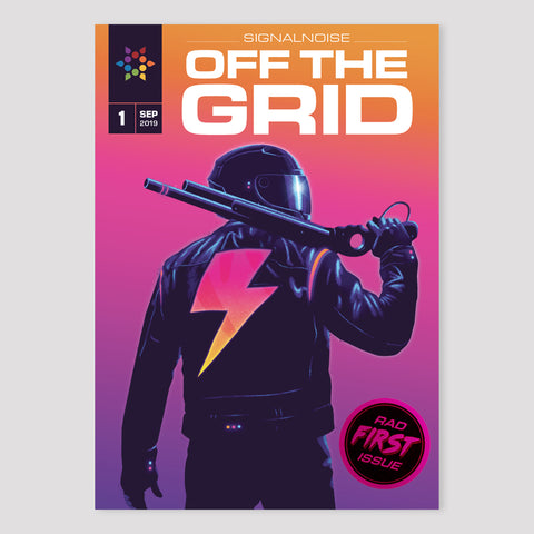 OFF THE GRID: #1 zine