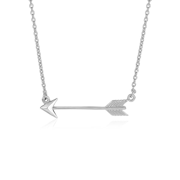 Necklace with Arrow in Sterling Silver