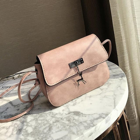 Mara's Dream Shell Messenger Cross Body PU Leather Bag