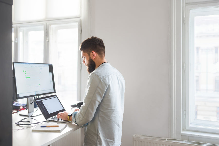Five ways you're using a standing desk incorrectly