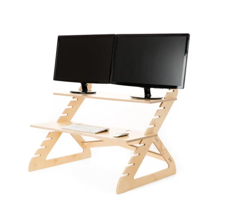double monitor readydesk