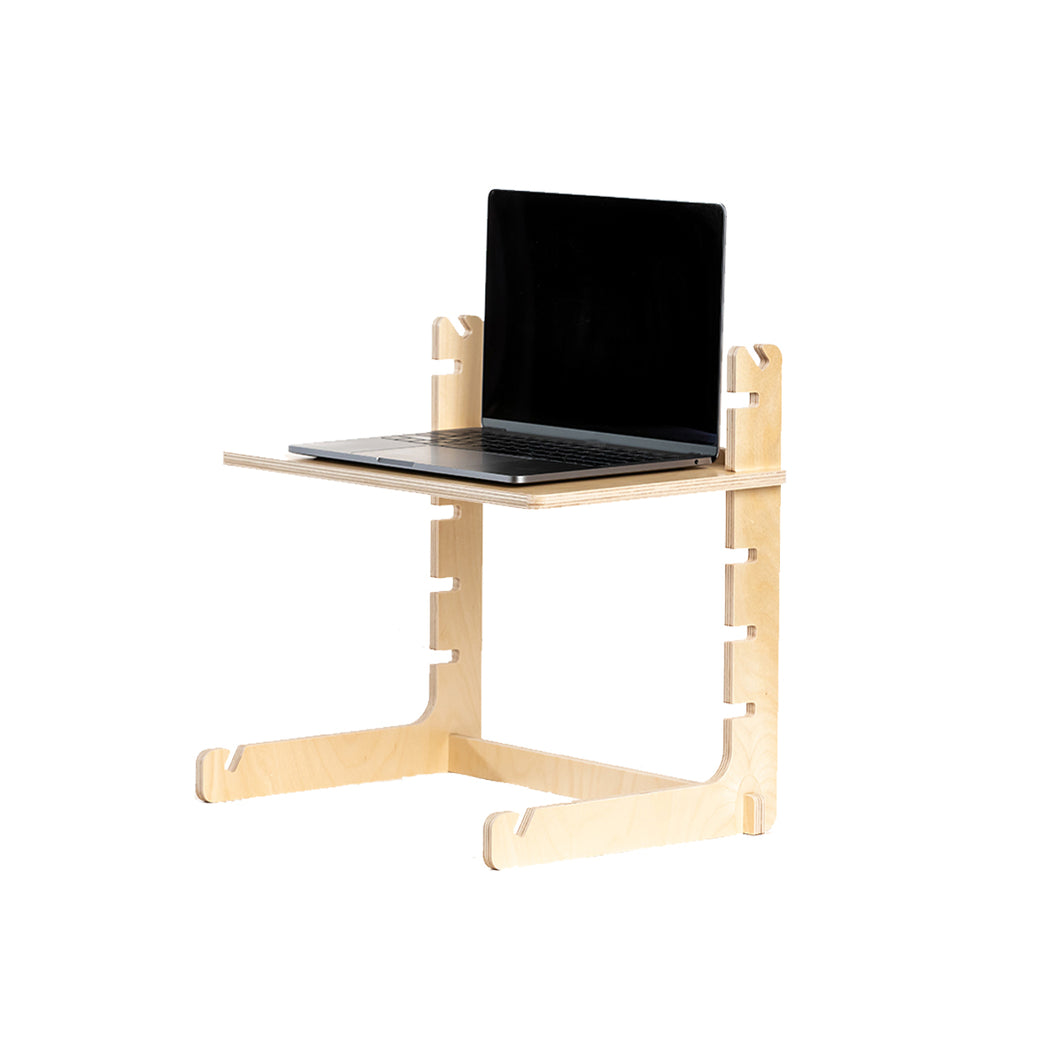 Image of: Made In Usa Standing Desk Converters And Laptop Stands Readydesk