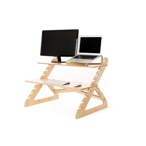 Value Combo | Readydesk 2 with laptop riser
