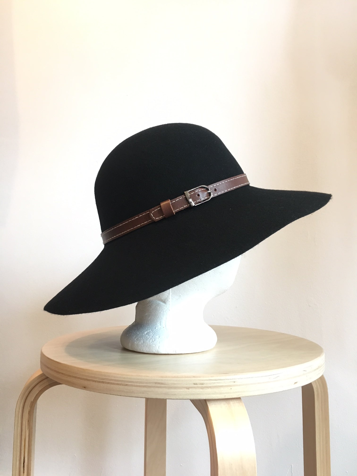 Kingston Wool Wide Brim Hat