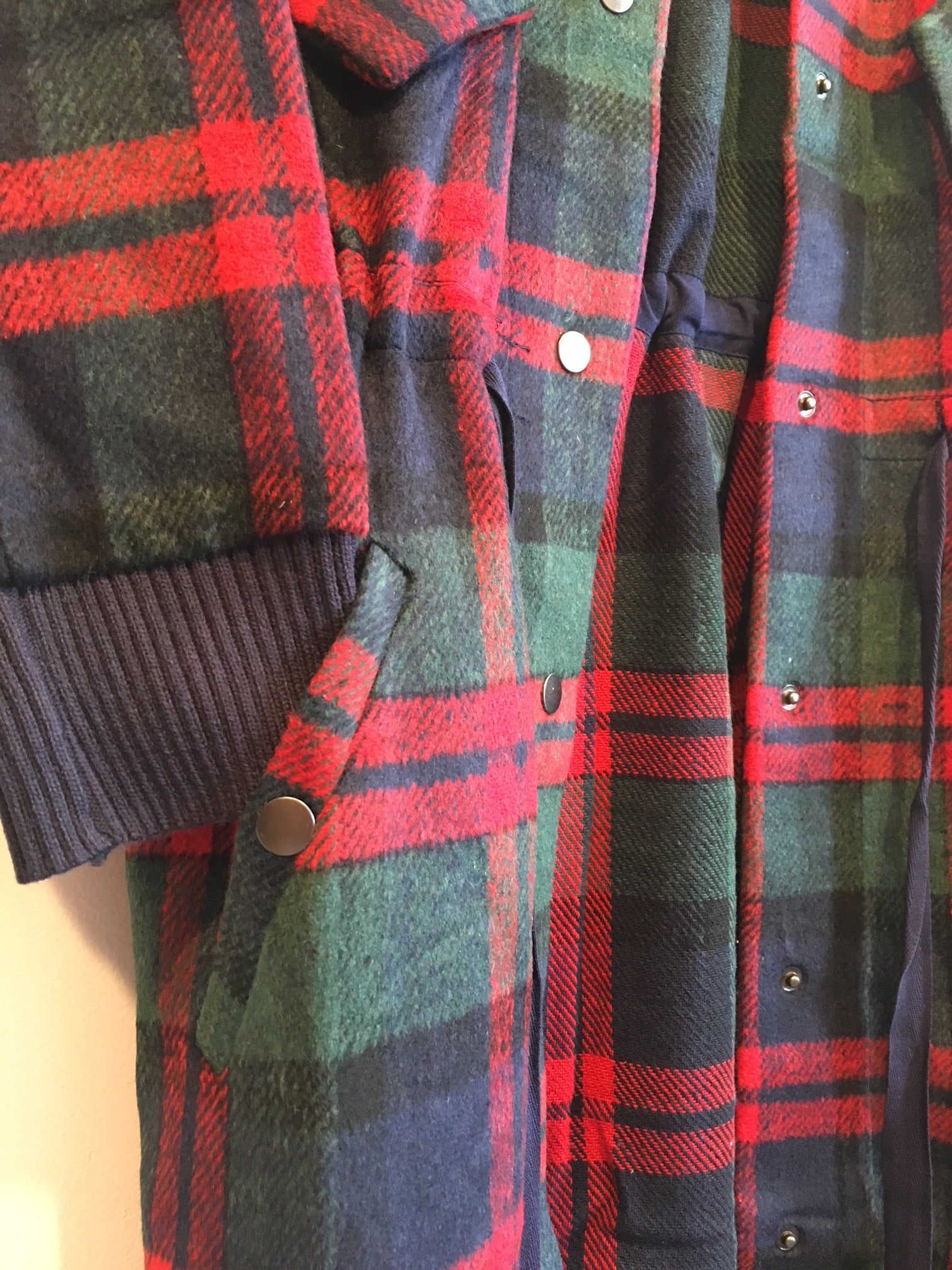 Frances Plaid Shirt Jacket