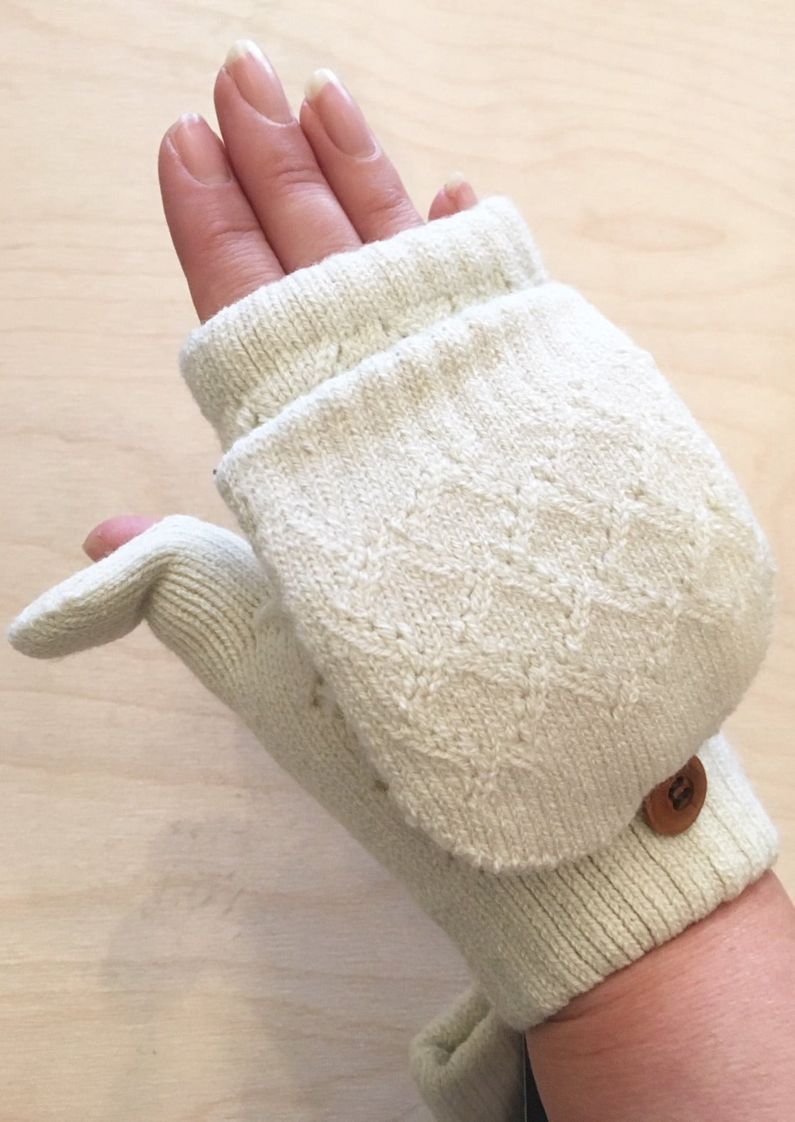 Fingerless Convertible Mittens