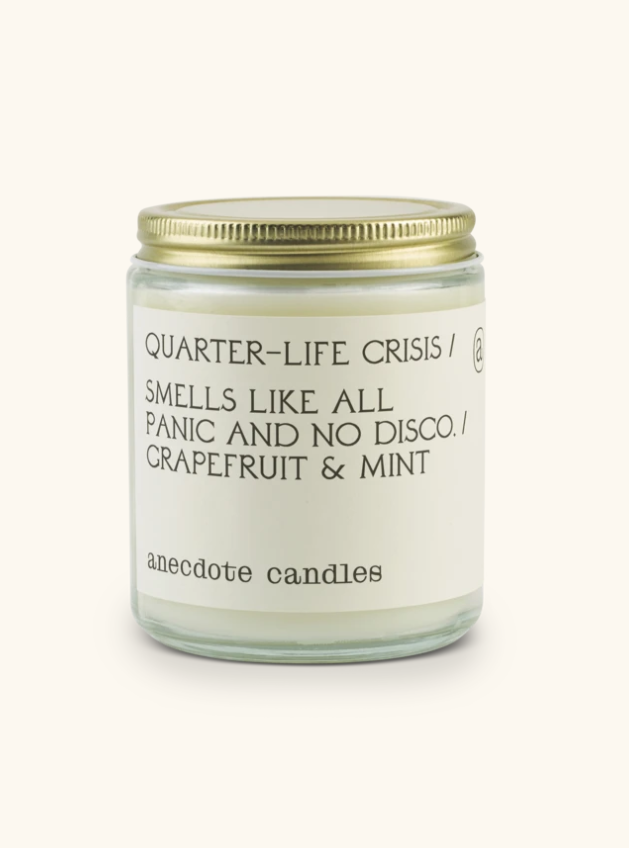 Quarter Life Crisis Soy Candle
