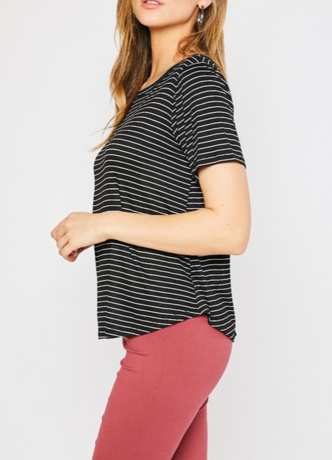 Striped Favorite Tee