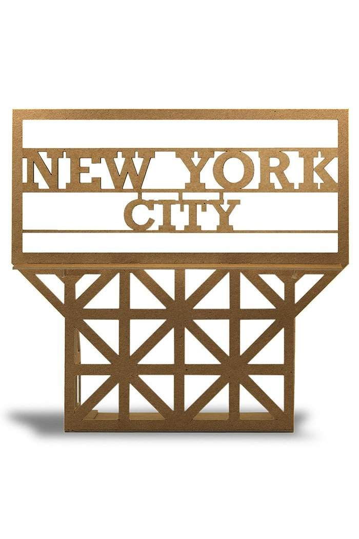 NYC Billboard Sign Kit-Sculpture-Boundless Brooklyn-Local Color NYC