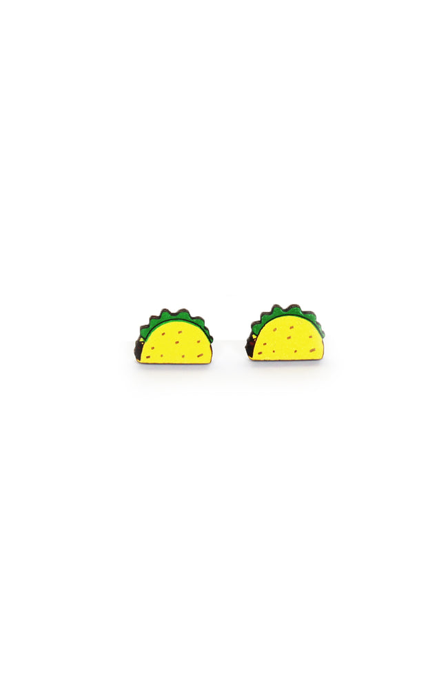 taco Tuesday novelty earrings