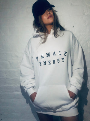 FEMALE ENERGY Oversized Hoodie