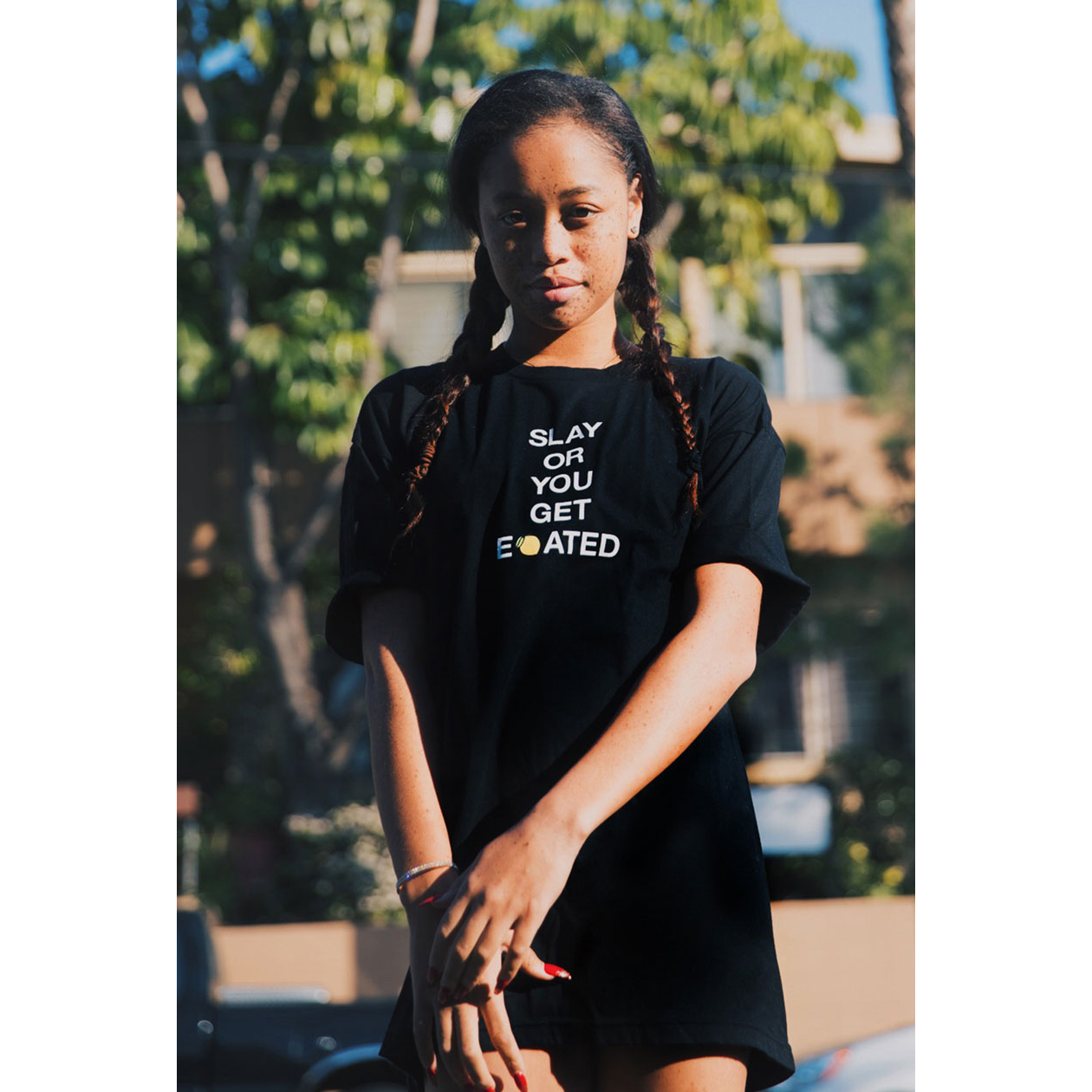 beyonce slay t shirt tshirt black shirt slay or you get elemonated