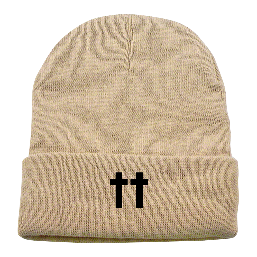OTR II Double Cross Khaki Beanie