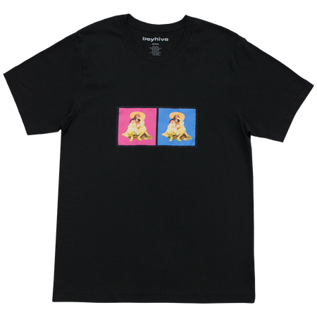 Beyhive Pink & Blue Patch Tee